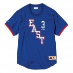 MITCHELL & NESS ALL STAR MESH CREW NECK 2004 EAST - ALLEN IVERSON BLUE