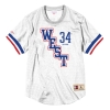 MITCHELL & NESS ALL STAR MESH CREW NECK 2004 WEST - SHAQUILLE O'NEAL WHITE