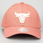 MITCHELL & NESS CHICAGO BULLS TEAM LOGO LOW PRO SNAPBACK CORK