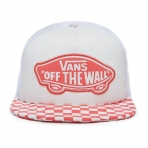 VANS BEACH GIRL TRUCKER HAT WHITE
