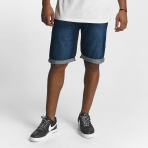 ROCA WEAR JEANS SHORT RELAX FIT MID BLUE