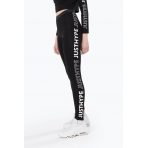 HYPE OUTLINE BLACK LEGGINGS