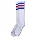 American Socks Ponožky American Pride Knee High White