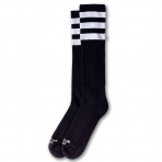 American Socks Ponožky Back In Black Knee High Black