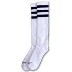 American Socks Ponožky Old School Knee High White
