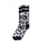American Socks Ponožky Skater Skull Signature Halloween