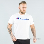 Champion Reverse Weave Crewneck T-Shirt - WHT