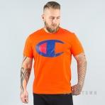 Champion Reverse Weave Crewneck T-Shirt - ORG