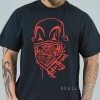 JOKER CLOWN BRAND TEE BLACK/RED