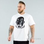 JOKER BASIC CLOWN TEE WHITE/GLOSSY BLACK