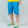 South Pole Elastic Cargo Shorts Non Denim Short Ocean Blue