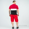 South Pole Elastic Cargo Shorts Non Denim Short Red