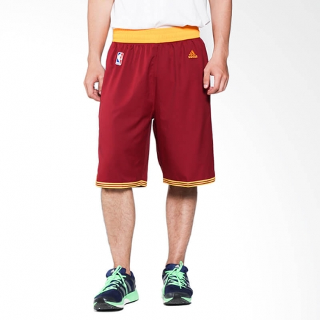 ADIDAS PERFORMANCE NBA INTNL SWINGMAN SHORT RED