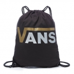 VANS BENCHED NOVELTY BACKPACK BLACK-METALLIC