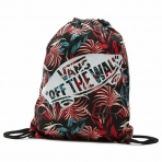 VANS BENCHED NOVELTY BACKPACK BLACK CALIFORNIA FLORAL