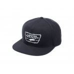 VANS FULL PATCH BARBED SNAPBACK BLACK