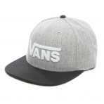VANS DROP V II SNAPBACK HEATHER GREY