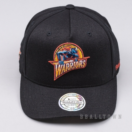 MITCHELL & NESS NBA EAZY SNAPBACK GOLDEN STATE WARRIORS HWC BLACK