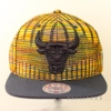 MITCHELL & NESS NBA BLACK FLAG SNAPBACK CHICAGO BULLS BLACK