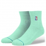 STANCE LOGO MAN PASTEL NBA LOGOMAN QTR LIGHT BLUE