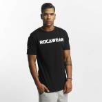 ROCAWEAR COLOR BLOCK TEE BLACK