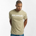 ROCAWEAR COLOR BLOCK TEE ARMY