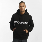ROCAWEAR COLOR BLOCK HOODY BLACK