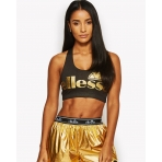 Ellesse Sports Malina Bra Top Gold/Anthracite