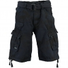 GEOGRAPHICAL NORWAY PANORAMIQUE CAMO SHORTS NAVYV