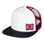 DC Shoes TRUCKER CAP MADGLADS BLACK/ SNOW WHITE