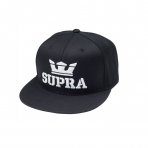 SUPRA Above Snap Hat BLACK