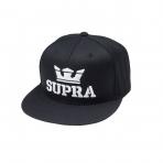 SUPRA Above Snap Hat BLACK