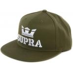 SUPRA Above Snap Hat BLACK-GOLD
