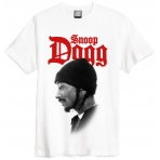 Amplified Tee Snoop Dogg Profile Wht