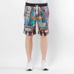 Mass DNM Palace Graphic Sweatshorts Multicolor
