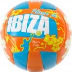 Spalding Beachvolley Ibiza Sz.5 Orange/Sky Blue