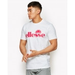Ellesse Sports Dazino T-Shirt Optic White/Pink