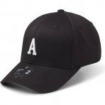 StateOf Wow Šiltovka Alpha Baseball Cap - Crown 2 - Black/White - Strapback