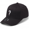 State Of Wow Šiltovka Question Mark Baseball Cap - Crown 2 - Black/White - Strapback
