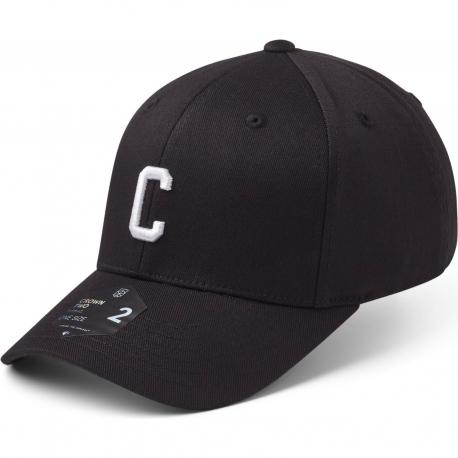StateOf Wow Šiltovka Charlie Baseball Cap - Crown 2 - Black/White - Strapback
