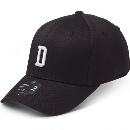 StateOf Wow Šiltovka Delta Baseball Cap - Crown 2 - Black/White - Strapback