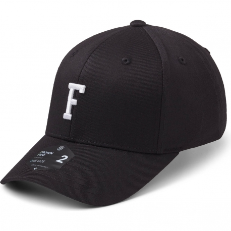 StateOf Wow Šiltovka Foxtrot Baseball Cap - Crown 2 - Black/White - Strapback