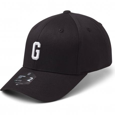 StateOf Wow Šiltovka Golf Baseball Cap - Crown 2 - Black/White - Strapback