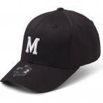 State Of Wow Šiltovka Mike Baseball Cap - Crown 2 - Black/White - Strapback