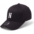 StateOf Wow Šiltovka November Baseball Cap - Crown 2 - Black/White - Strapback