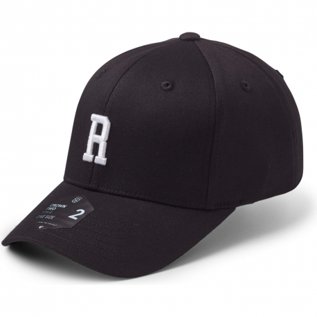StateOf Wow Šiltovka Romeo Baseball Cap - Crown 2 - Black/White - Strapback