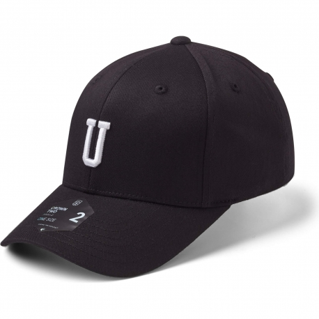StateOf Wow Šiltovka Uniform Baseball Cap - Crown 2 - Black/White - Strapback