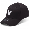 State Of Wow Šiltovka Whiskey Baseball Cap - Crown 2 - Black/White - Strapback
