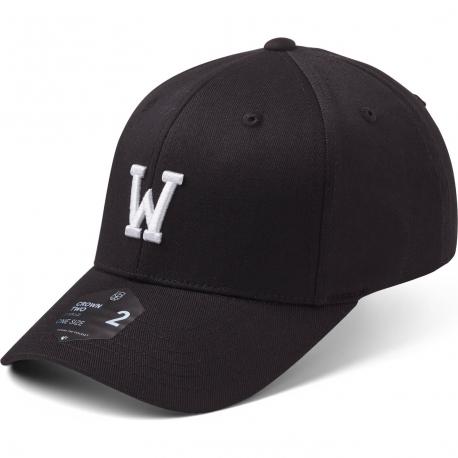 StateOf Wow Šiltovka Whiskey Baseball Cap - Crown 2 - Black/White - Strapback