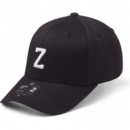 StateOf Wow Šiltovka Zulu Baseball Cap - Crown 2 - Black/White - Strapback